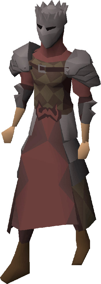 Inquisitor's Armour Render in OSRS