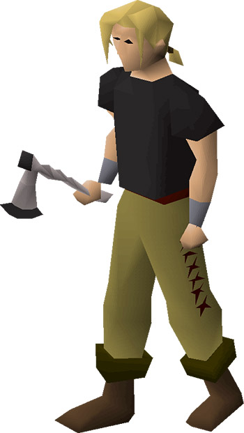 3rd Age Axe OSRS Render