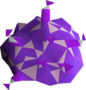 Purple Sweets Render in OSRS