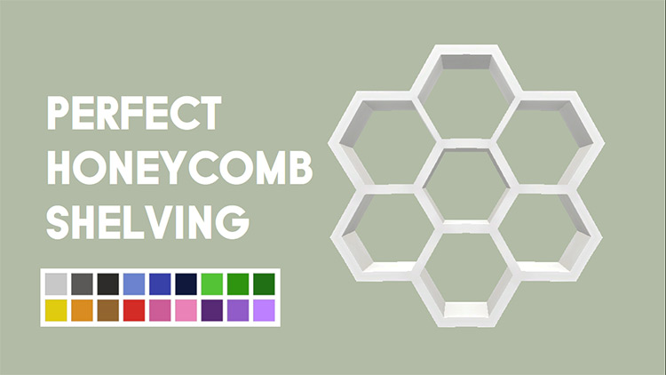 Perfect Honeycomb CC for Sims 4