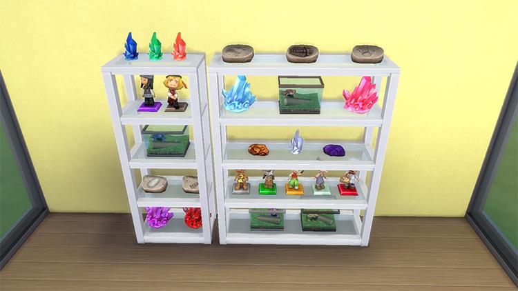 Grand Designs Collectible Shelf Sims 4 CC