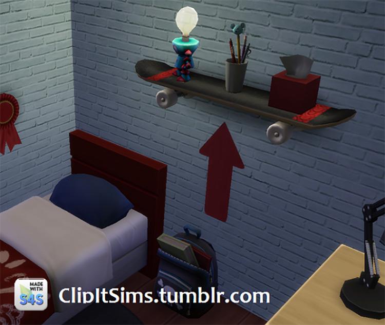Skateboard Shelf TS4 CC