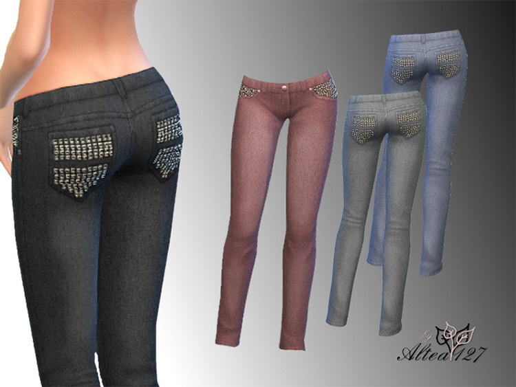 Style Jeans Sims 4 CC