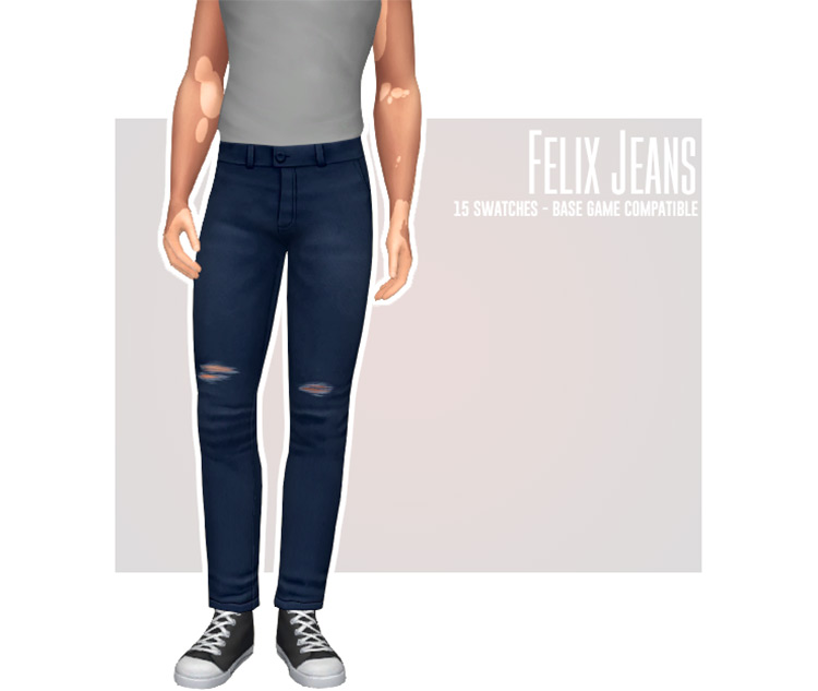 Felix Jeans for Sims 4