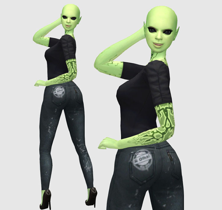 TodaSims Jeans Skinny TS4 CC