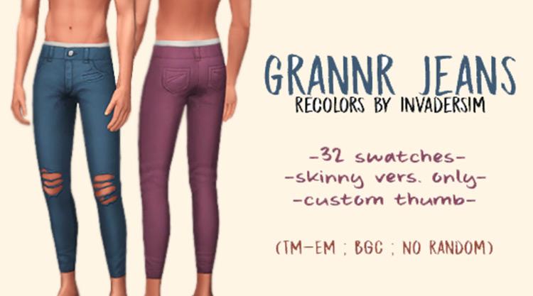 Grannr Jeans Sims 4 CC