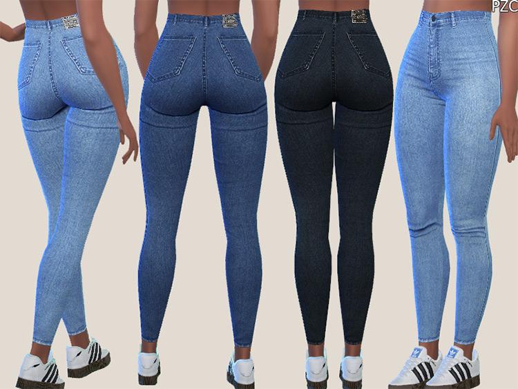 Denim Skinny Jeans #015 / Sims 4 CC