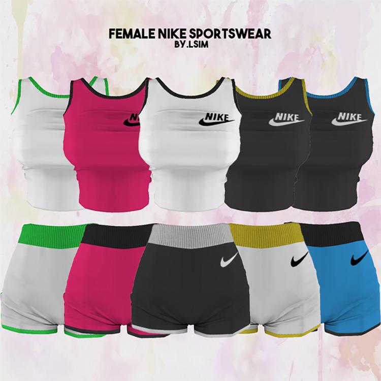 Female Nike Sportswear TS4 CC