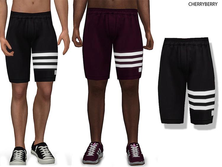 Evan Men's Shorts Sims 4 CC