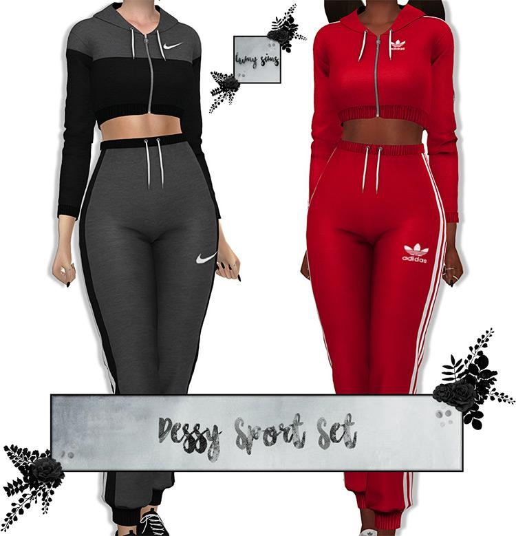 Dessy Sport Set Sims 4 CC