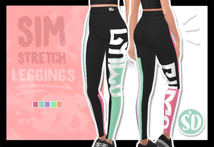 Sim Stretch Leggings TS4 CC