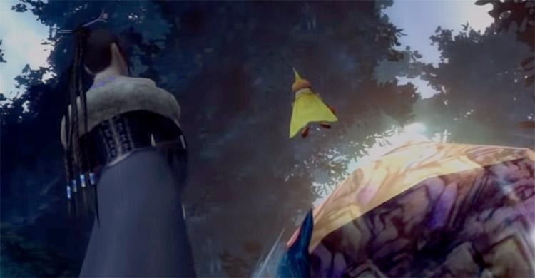 Onion Knight Celestial Weapon in FFX