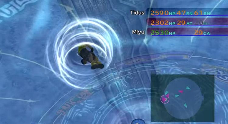 Jecht Shot 2 Blitzball Tidus Screenshot