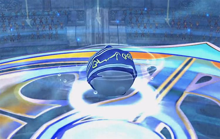 Blitzball Spinning Screenshot from FFX HD
