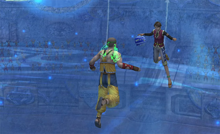 Defense from Poisoned Player in FFX HD