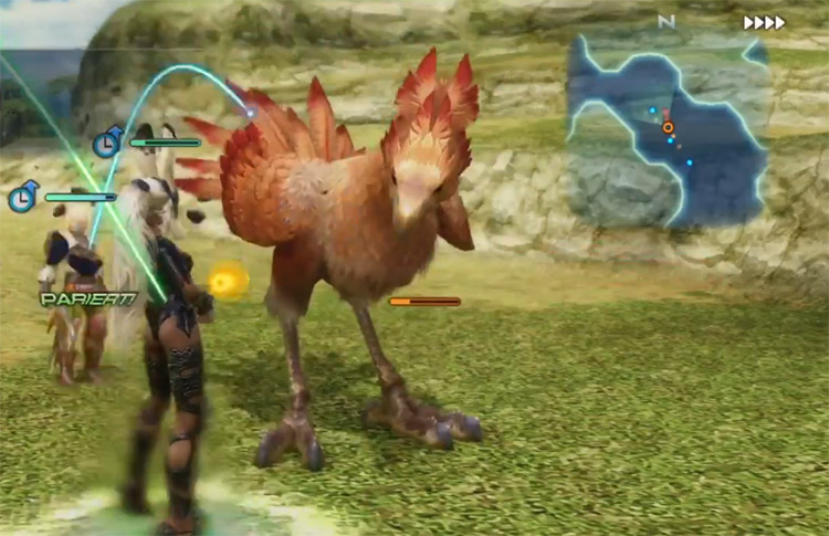 Lv99 Red Chocobo Battle in FF12 The Zodiac Age