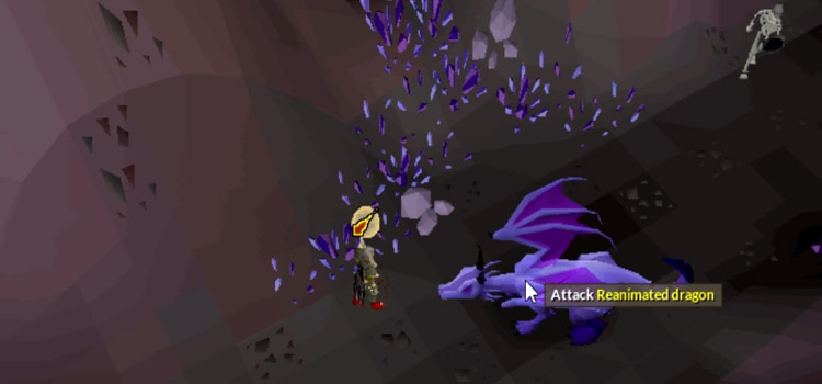 Ensouled Reanimated Dragon in Old School RuneScape