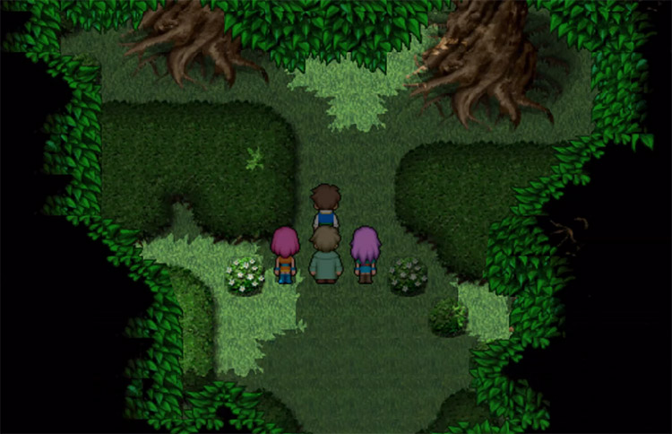 Dechirer Grinding in FF5 Great Forest of Moore