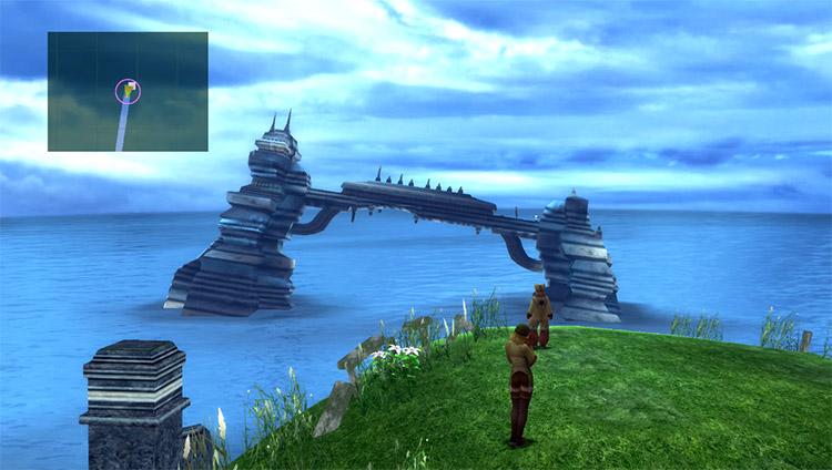Tidus Miihen Highroad Airship Treasure location in FFX HD