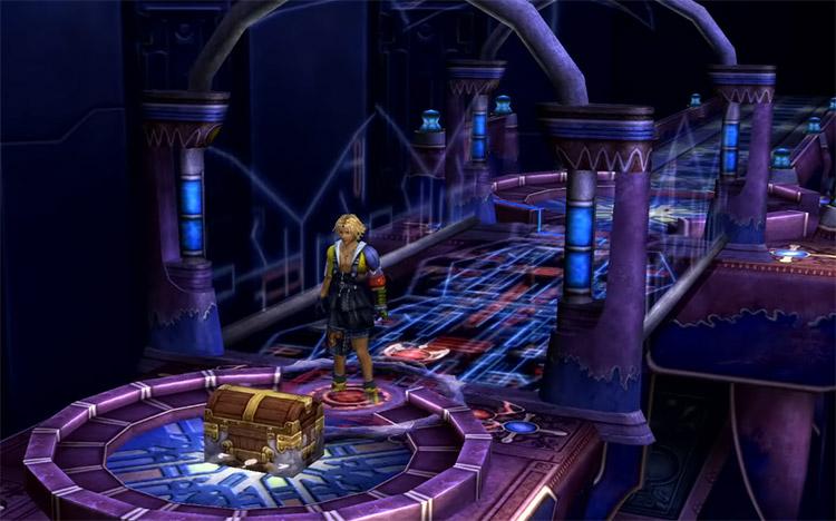 FFX HD Bevelle Cloister Hidden Treasure
