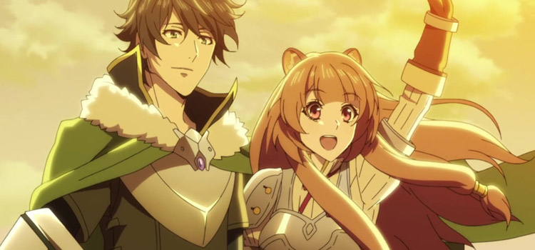Raphtalia and Ren in Rising of the Shield Hero