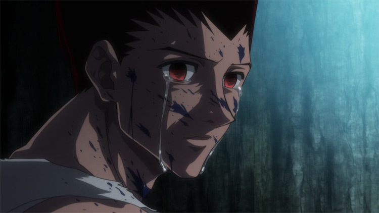 Gon in Hunter x Hunter anime