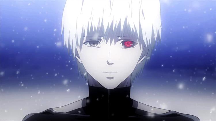 Ken Kaneki Tokyo Ghoul anime screenshot