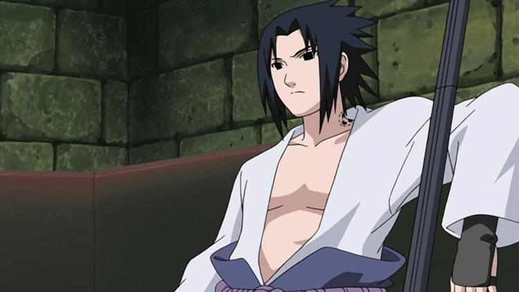 Sasuke Uchiha in Naruto: Shippuden