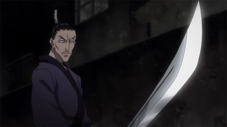 Nobunaga Hazama Hunter x Hunter anime screenshot