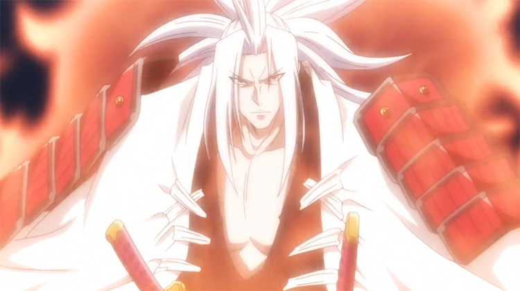 Amidamaru in Shaman King anime