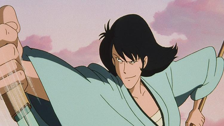 Goemon Ishikawa XIII in Lupin III anime