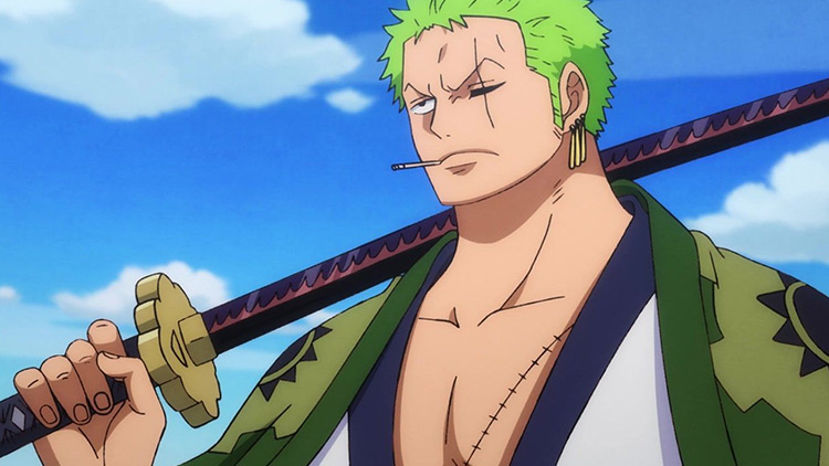 Zoro Roronoa from One Piece anime