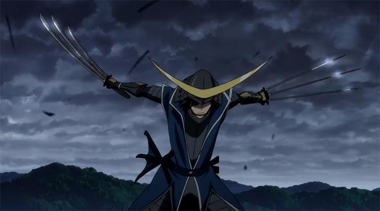 Masamune Date in Sengoku Basara: Samurai Kings