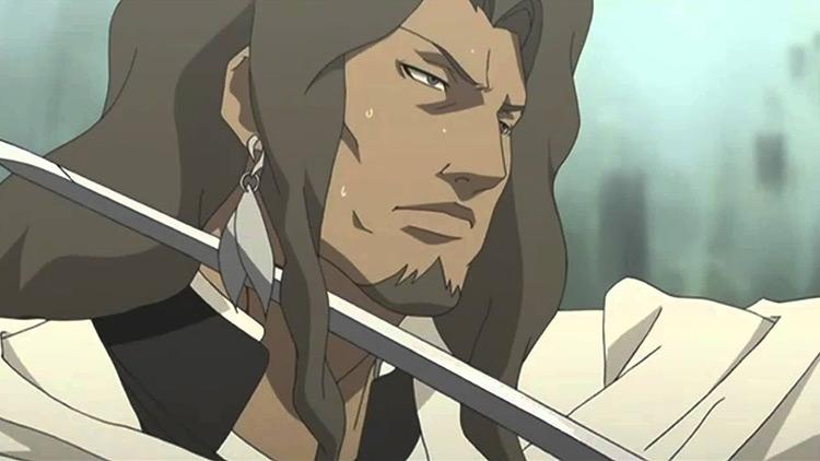 Kambei Shimada Samurai 7 anime screenshot