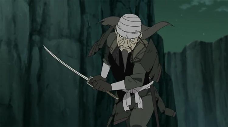 Mifune in Naruto: Shippuden
