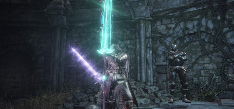 Greatsword of Judgment Knight Build in DS3