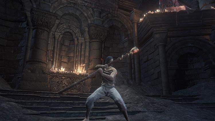 Mendicant's Staff Dark Souls 3 screenshot