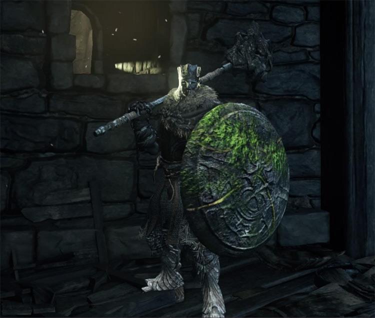 Stone Greatshield from Dark Souls 3