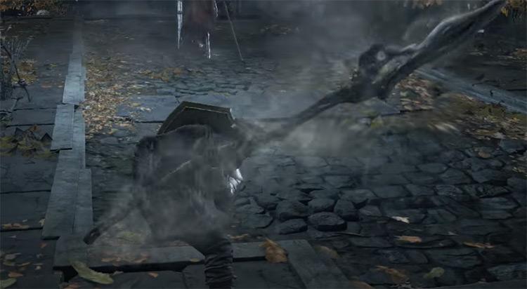 Tailbone Spear/Short Sword in DS3