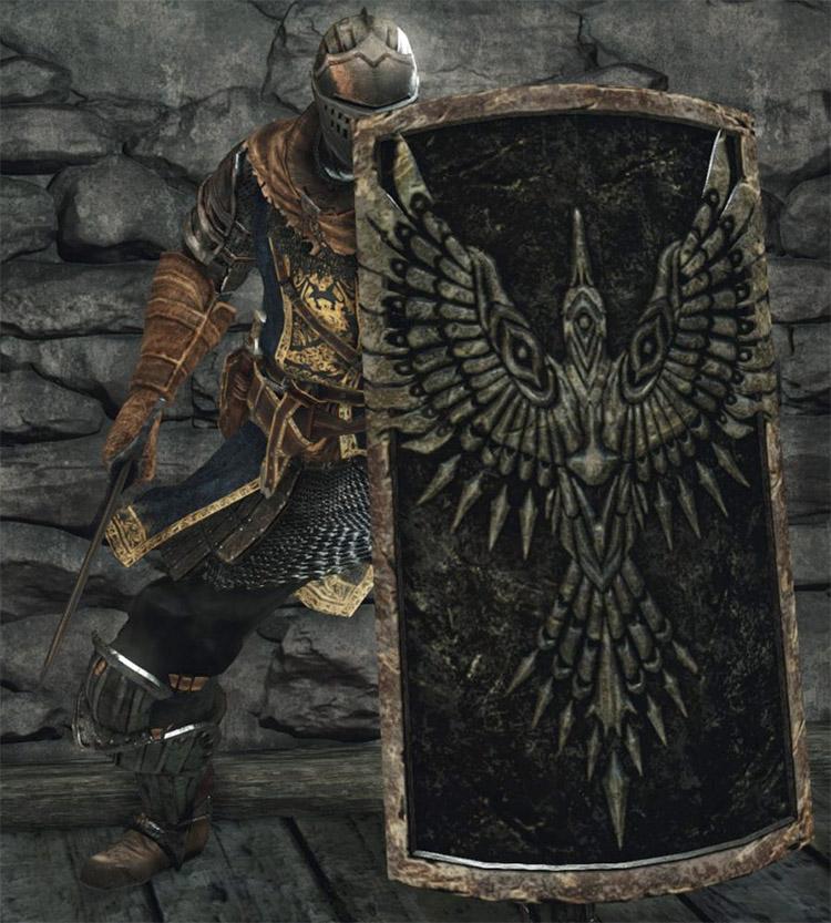 Rebel's Greatshield in Dark Souls II