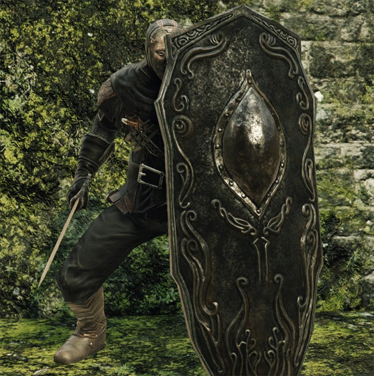 Drakekeeper's Greatshield in Dark Souls 2