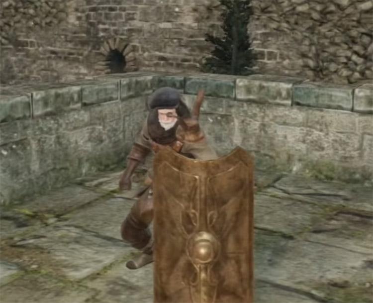 Mastodon Greatshield in Dark Souls II