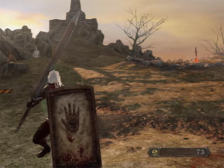 Wicked Eye Greatshield in Dark Souls II