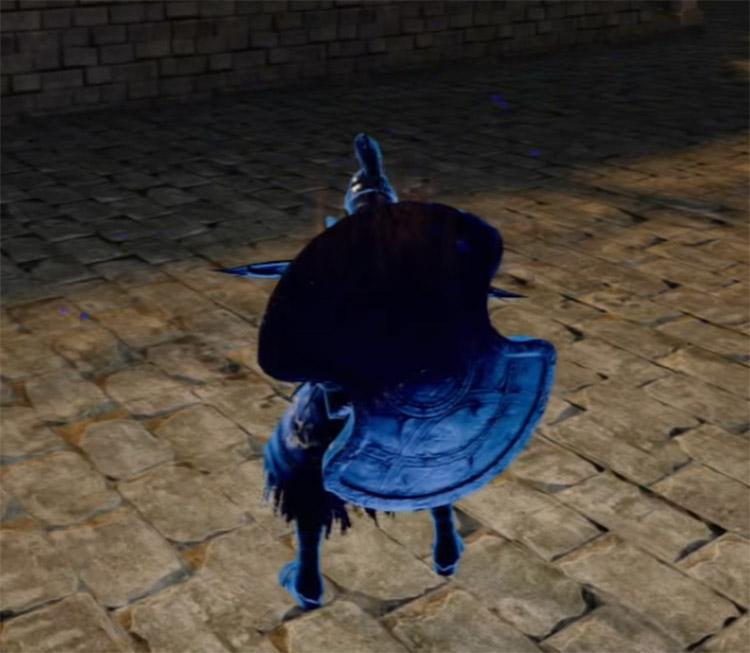 Pursuer's Greatshield in Dark Souls II