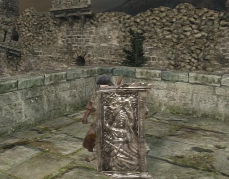Orma's Greatshield in Dark Souls II