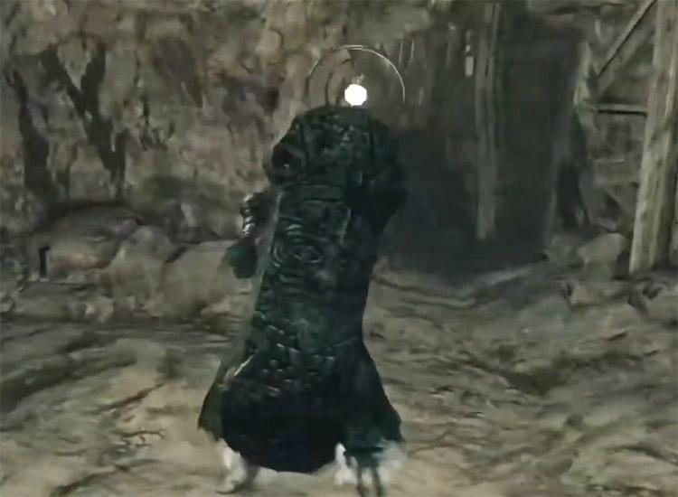 Old Knight Greatshield in Dark Souls II
