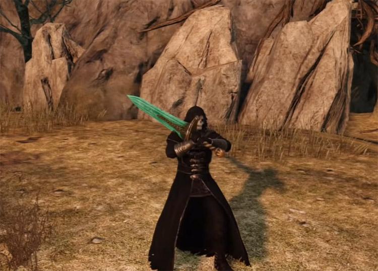 Moonlight Greatsword in Dark Souls II