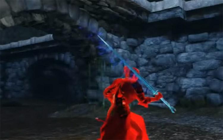 Watcher Greatsword in Dark Souls II