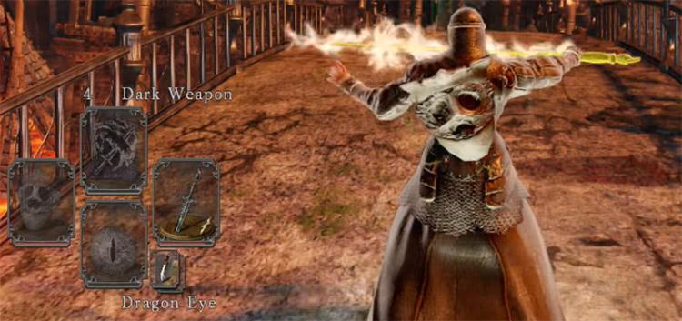Defender Greatsword in Dark Souls II