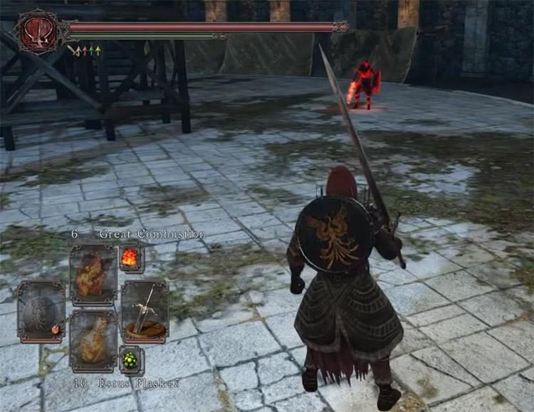 Black Knight Greatsword in Dark Souls II